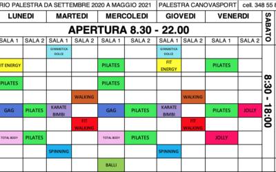 PLANNING CORSI 2020/21
