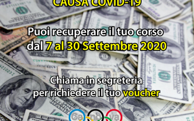 RECUPERO CORSI SOSPESI A MARZO CAUSA COVID19