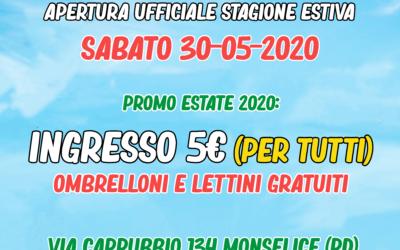 APERTURA ESTIVO 2020