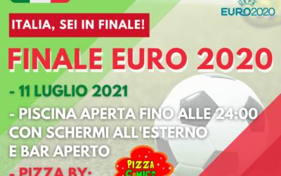 FINALE EURO 2020 – 11 LUGLIO 2021 – IN PISCINA!