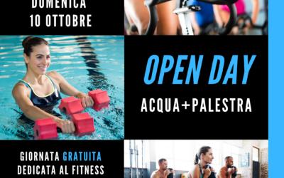 OPEN DAY 10 OTTOBRE 2021 – ACQUA + PALESTRA